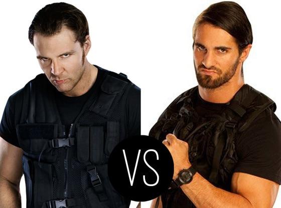 Dean Ambrose vs. Seth Rollins
