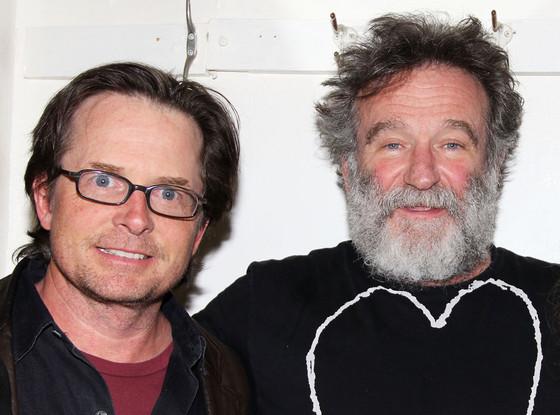 Michael J. Fox, Robin Williams
