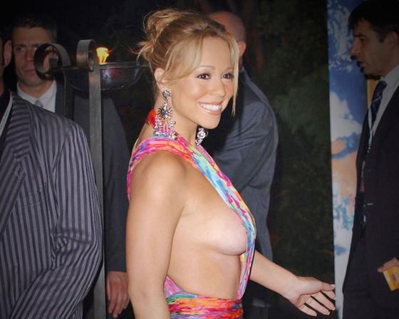 Mariah Carey, Side boob