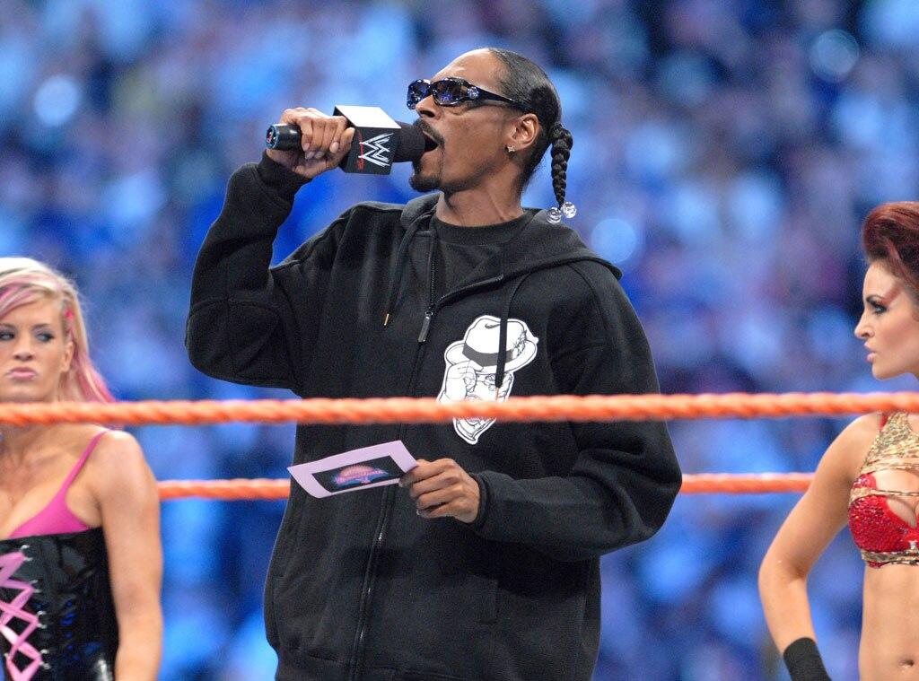 Snoop Dogg, WWE, WrestleMania