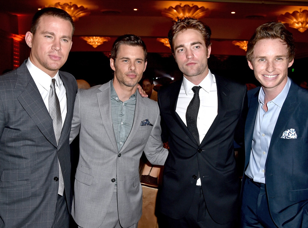 Channing Tatum, James Marsden, Robert Pattinson, Eddie Redmayne