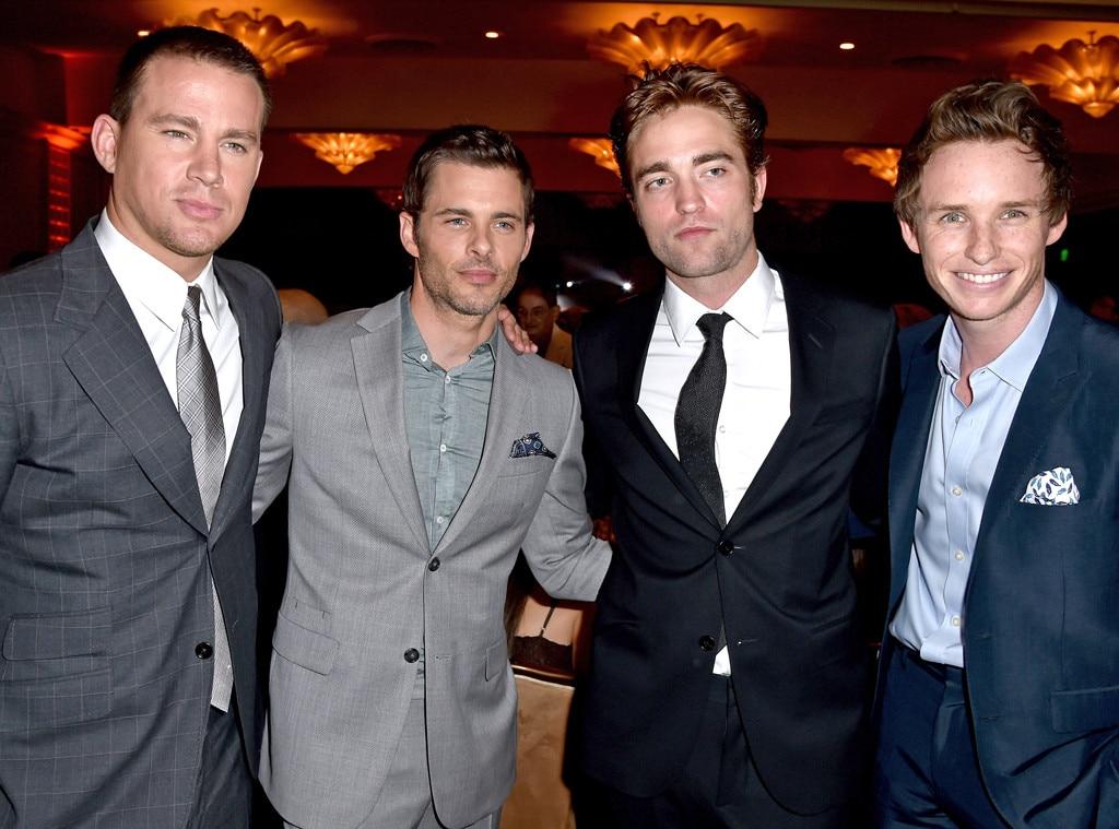 Channing Tatum, James Marsden, Robert Pattinson, Eddie Redmayne