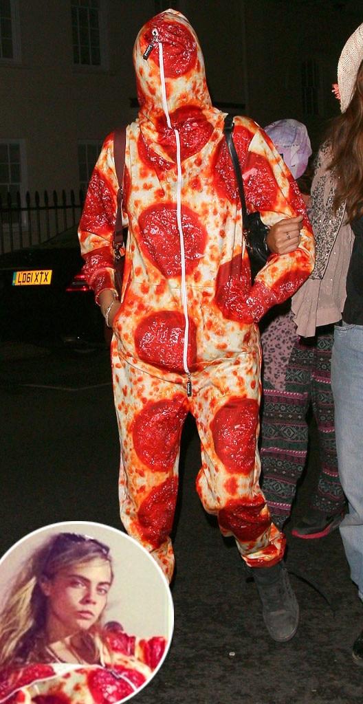 Cara Delevingne, Pizza