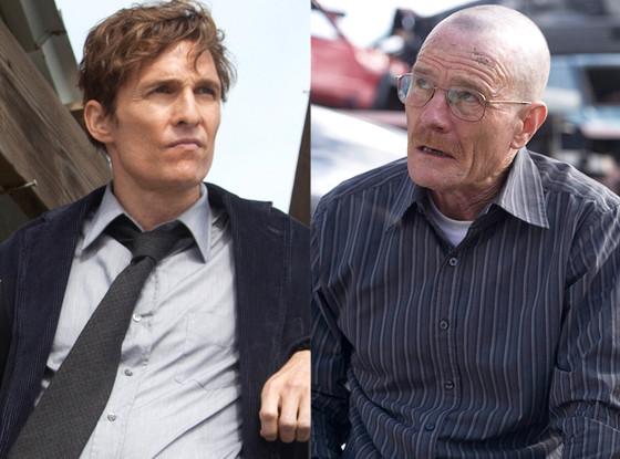 Bryan Cranston, Matthew McConaughey, Emmy Predictions