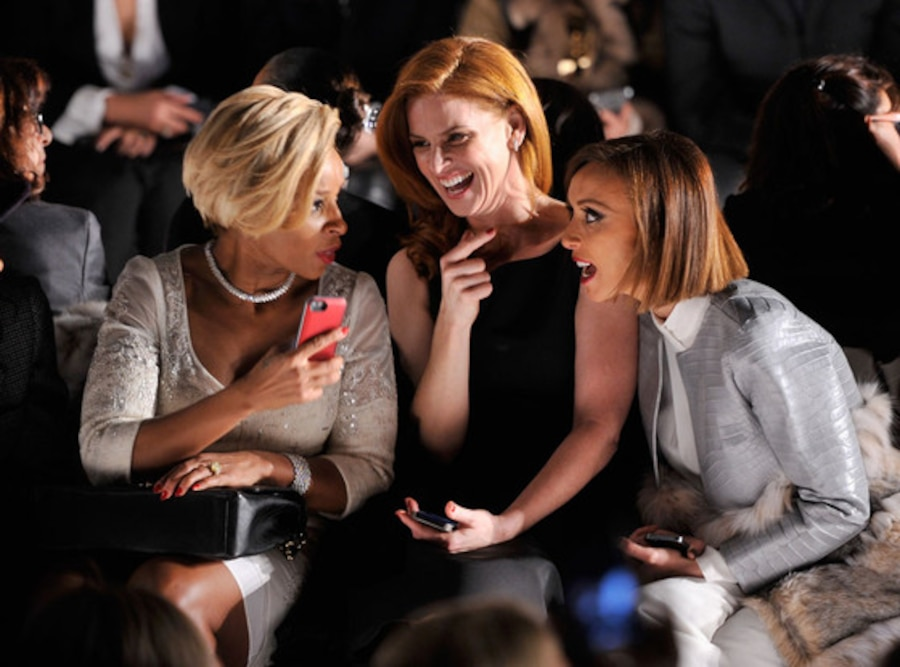 Mary J. Blige, Sarah Rafferty, Giuliana Rancic