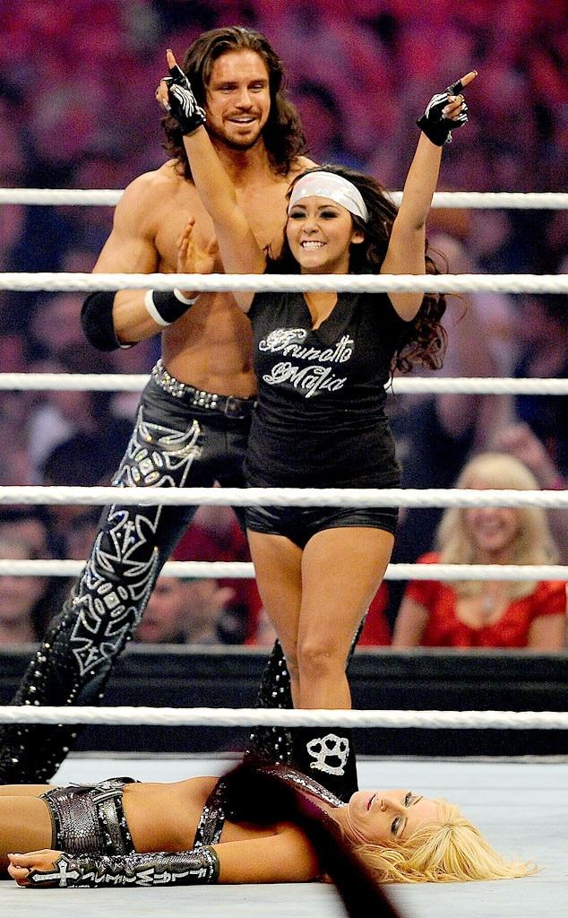 Nicole Snooki Polizzi, WWE, WrestleMania