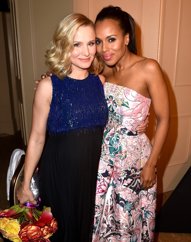 Kristen Bell, Kerry Washington