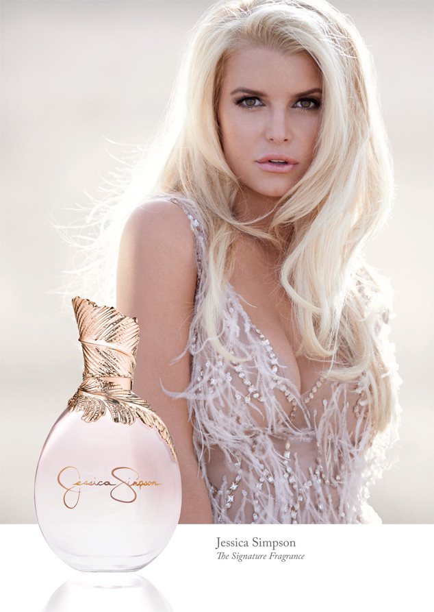 Jessica Simpson, Fragrance Ad
