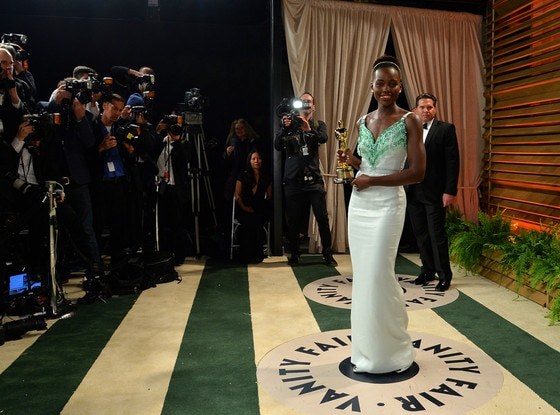 Lupita Nyong'o, Vanity Fair Oscar Party
