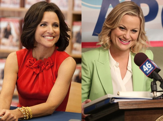 Amy Poehler, Parks and Recreation, Parks and Rec, Julia Louis-Dreyfus, Veep