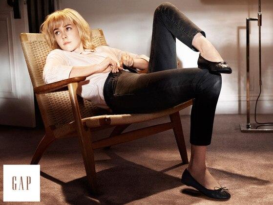 Jena Malone, GAP Fall Campaign
