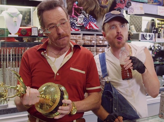 Bryan Cranston, Aaron Paul, Barely Legal Pawn