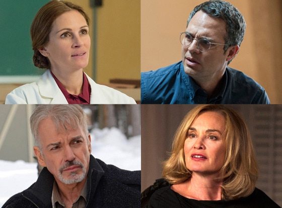 Julia Roberts, Mark Ruffalo, Billy Bob Thornton, Jessica Lange, Emmy