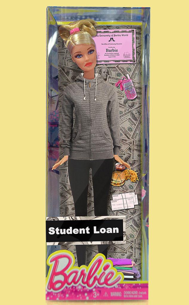 Studen Loan Barbie
