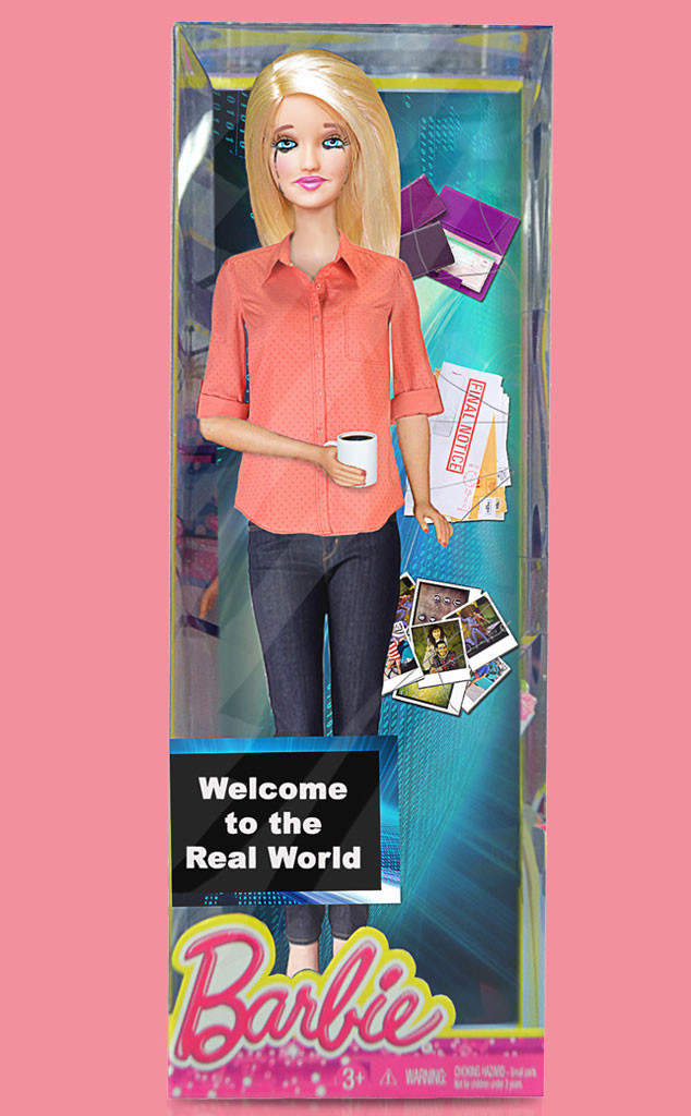 Welcome to the Real World Barbie