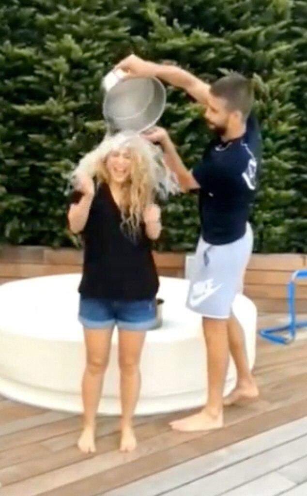 Shakira, ALS Ice Bucket Challenge
