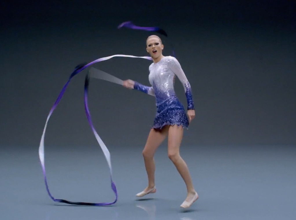 Ribbon dancer from taylor swift s shake it off style