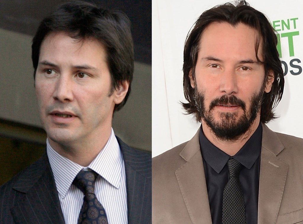 Keanu Reeves, Beards