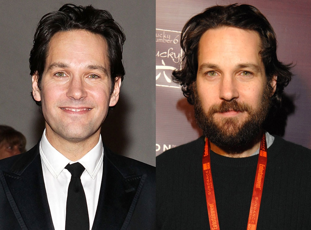Paul Rudd, Beards