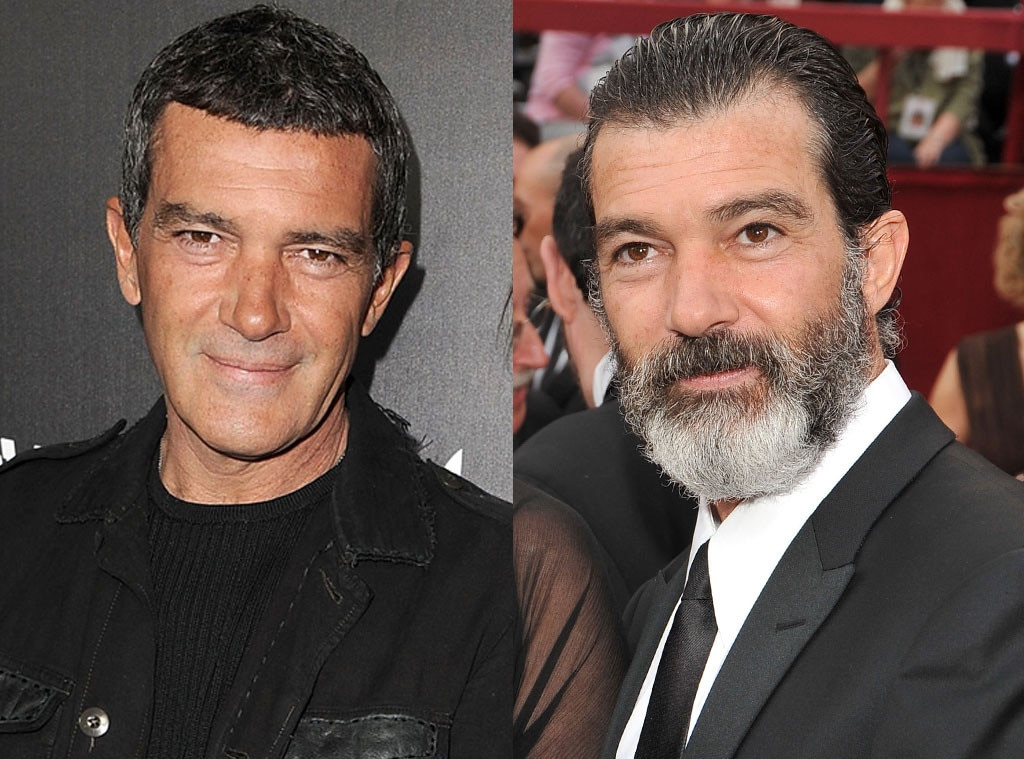 Antonio Banderas, Beards