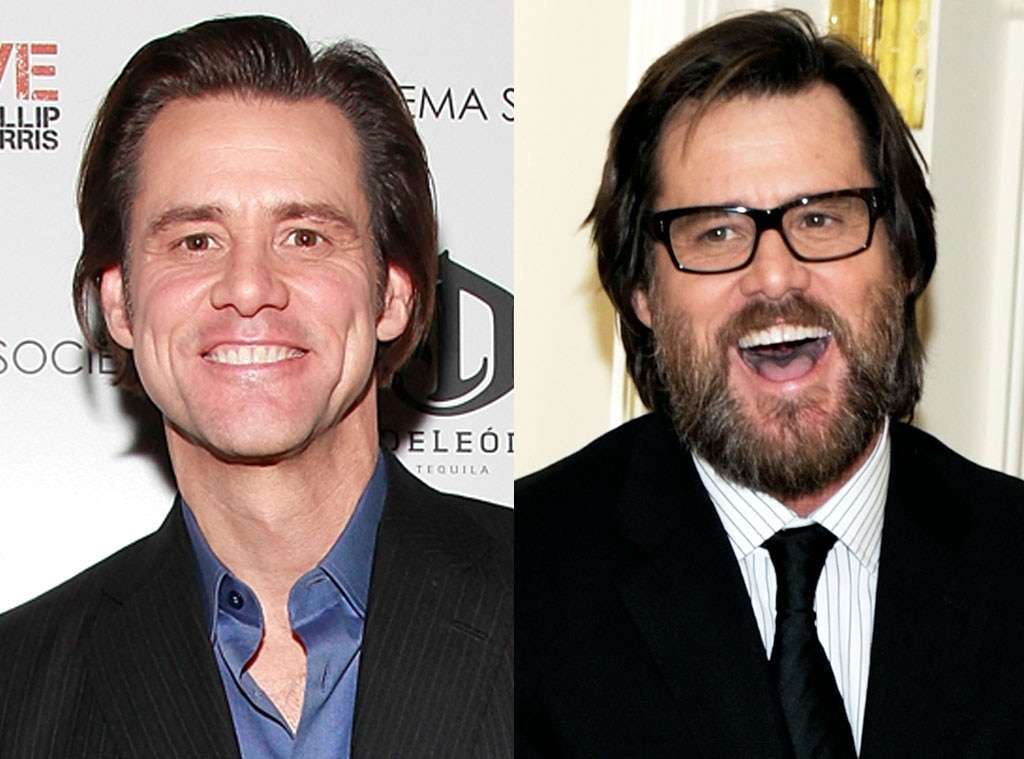 Jim Carrey, Beards