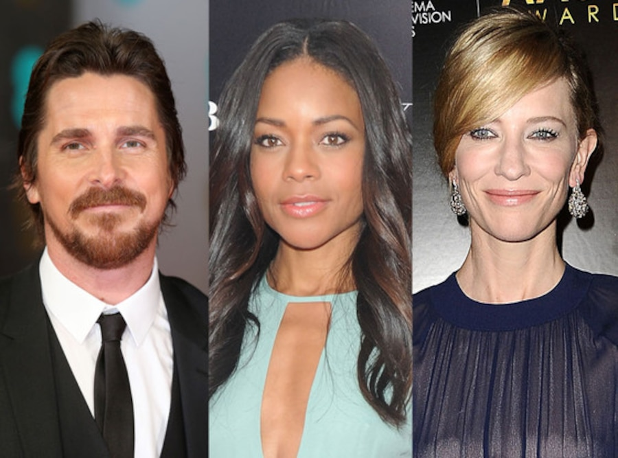 Christian Bale, Naomi Harris, Cate Blanchett, Jungle Book Casting