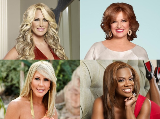 Real Housewives, Kim Zolciak, Caroline Manzo, Vicki Gunvalson, Kandi Burruss