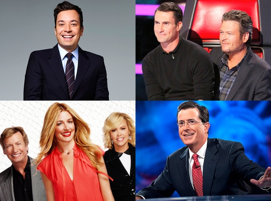 Colbert, Fallon, So You Think You Can Dance, The Voice, Emmy Predictions