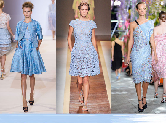 Fashion Week Color Predictions: Sky/Ice Blue