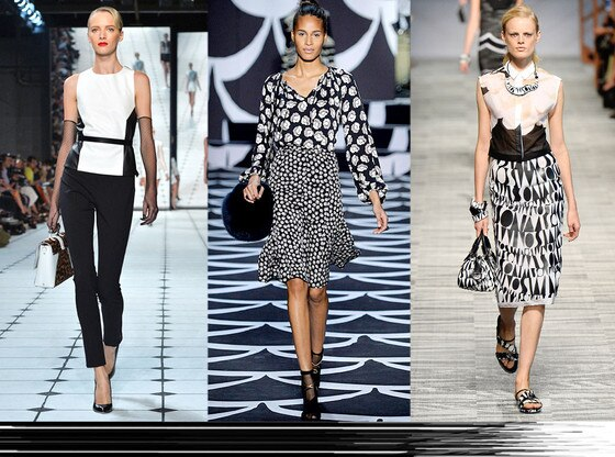 Fashion Week Color Predictions: Black and White