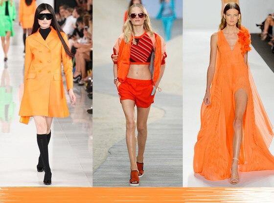 Fashion Week Color Predictions: Bright Orange