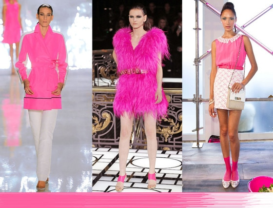 Fashion Week Color Predictions: Flamingo Pink