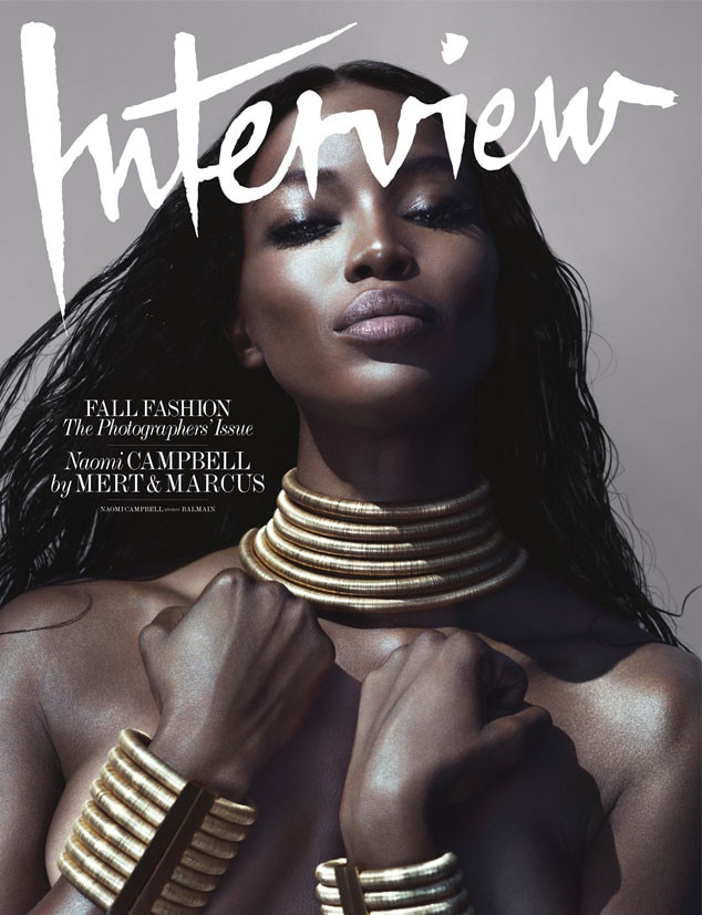 Naomi Campbell, Interview