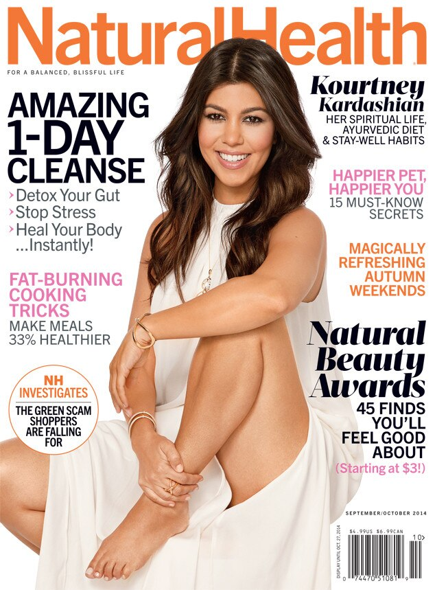 Kourtney Kardashian, Natural Health