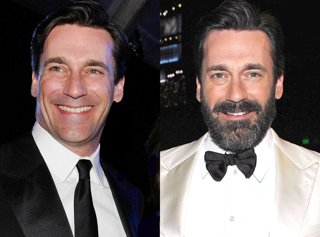Jon Hamm, Beards