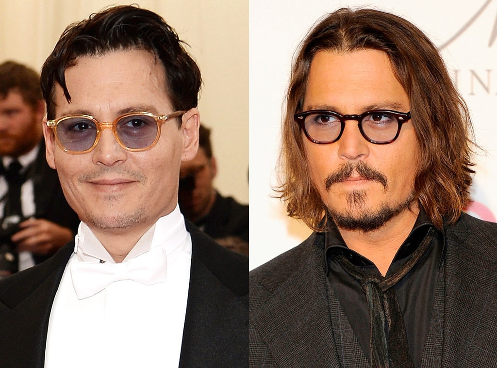 Johnny Depp, Beards