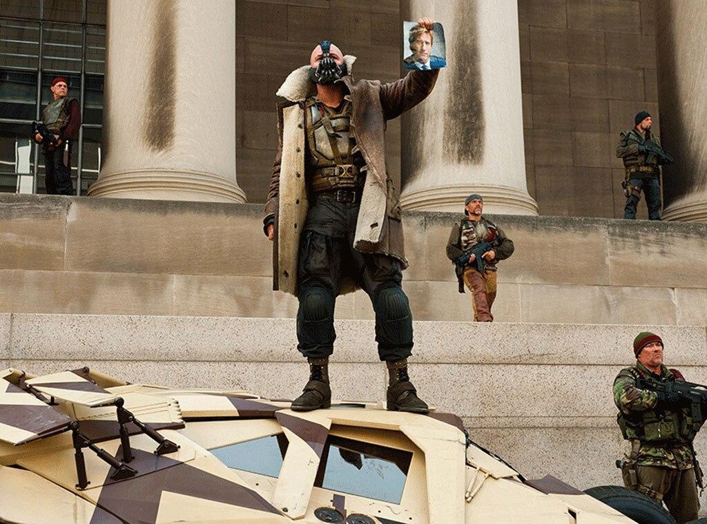 Tom Hardy, Bane, Dark Knight Rises