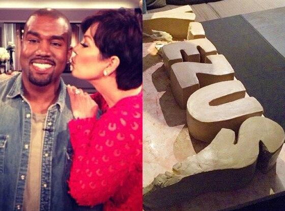 Kanye West, Cake, Yeezus, Kris Jenner