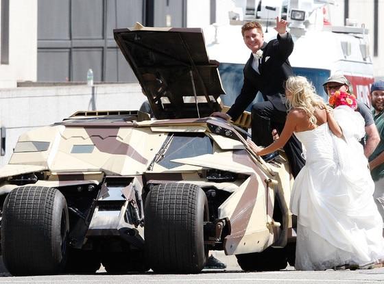Dark Knight, Wedding