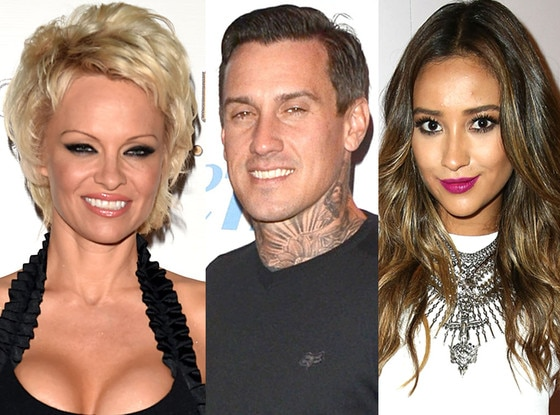 Pamela Anderson, Carey Hart, Shay Mitchell