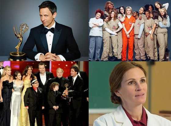 Seth Meyers, Julia Roberts, Orange Is the New Black cast, Modern Family cast