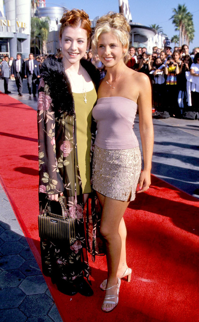 Alyson Hannigan, Sarah Michelle Gellar, MTV VMAs 1998