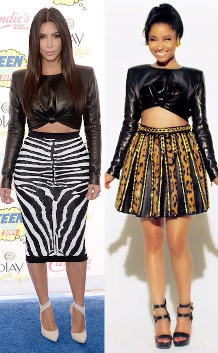 Kim Kardashian, Nicki Minaj, BSML