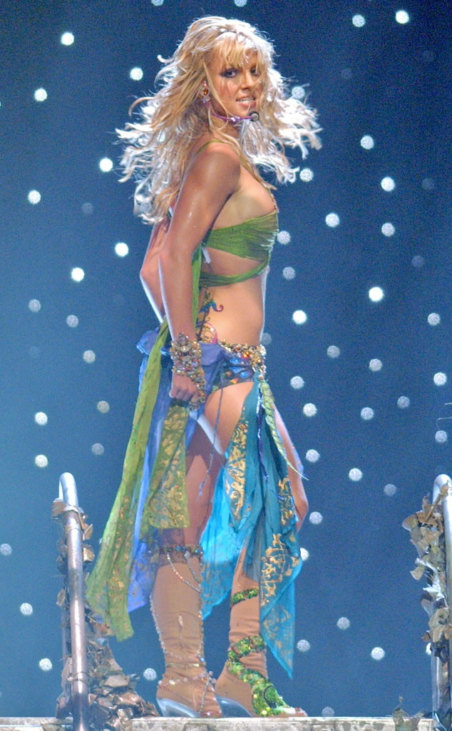Britney Spears, MTV VMA's 2001