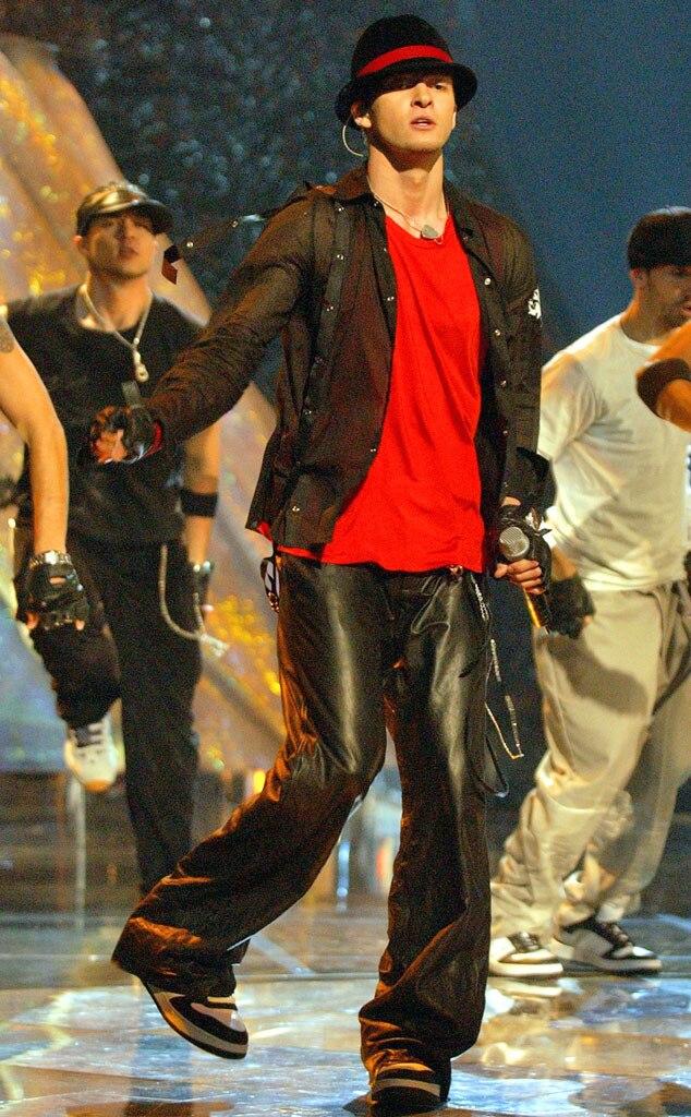 Justin Timberlake, MTV VMA's 2002
