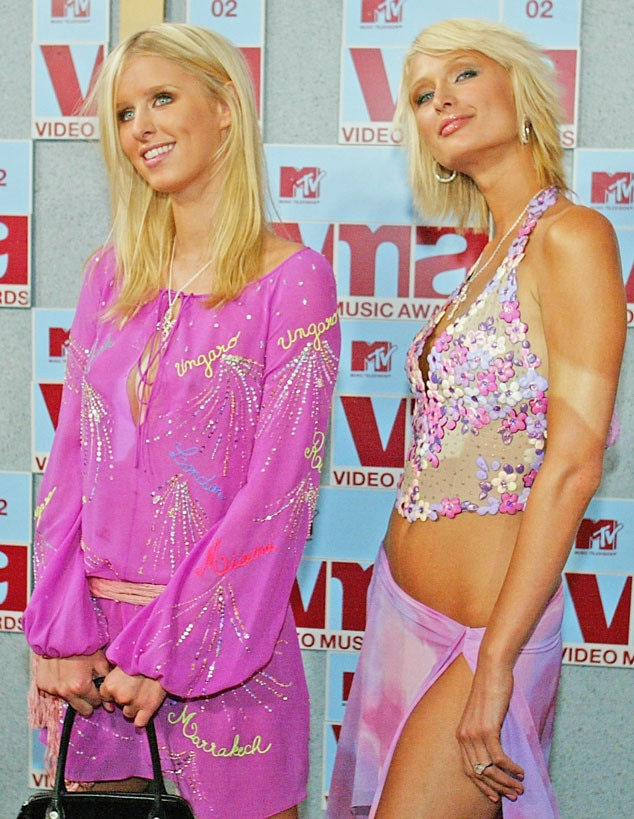 Nicky Hilton, Paris Hilton, MTV VMA's 2002