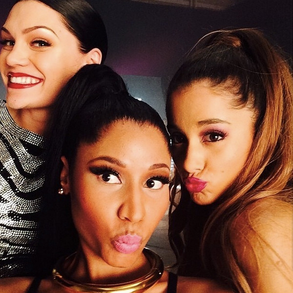 Jessie J, Ariana Grande, Nicki Minaj, Instagram