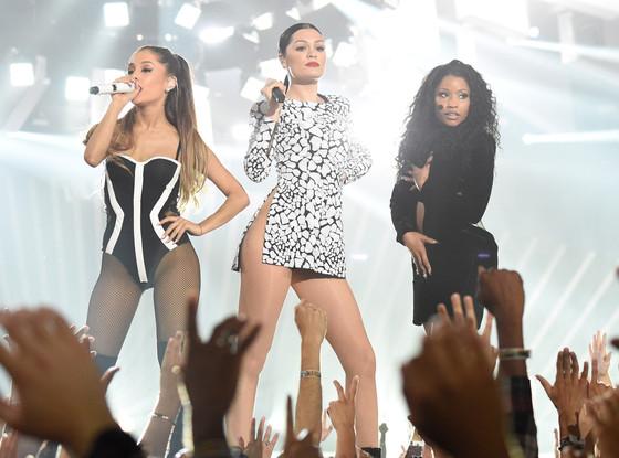 Jessie J, Ariana Grande, Nicki Minaj, MTV VMAs 2014