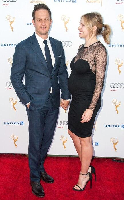 Josh Charles, Josh Charles and wife