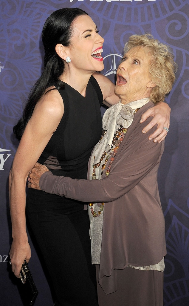Julianna Margulies, Cloris Leachman